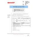 Sharp AR-121E (serv.man18) Technical Bulletin