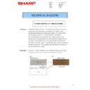 Sharp AR-121E (serv.man9) Technical Bulletin
