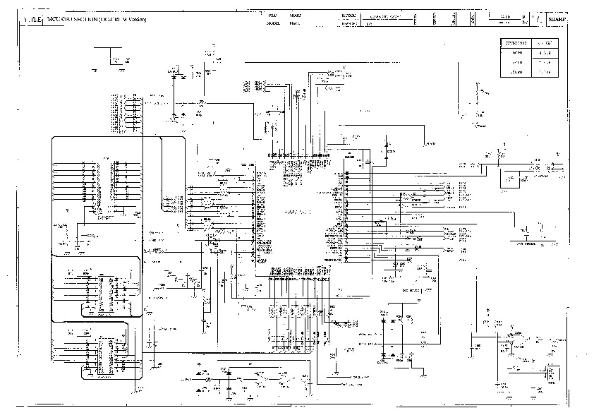 Sharp Ar-121e Service Manual