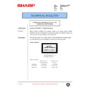Sharp AR-150 (serv.man56) Technical Bulletin