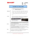 Sharp AR-152E (serv.man15) Technical Bulletin