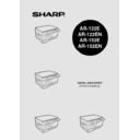 Sharp AR-152E (serv.man7) User Guide / Operation Manual