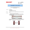 Sharp AR-152EN (serv.man14) Technical Bulletin