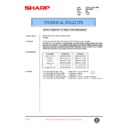 Sharp AR-161 (serv.man102) Technical Bulletin