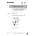 Sharp AR-161 (serv.man136) Technical Bulletin