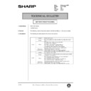 Sharp AR-161 (serv.man142) Technical Bulletin