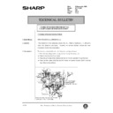 Sharp AR-161 (serv.man145) Technical Bulletin