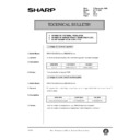 Sharp AR-161 (serv.man148) Technical Bulletin