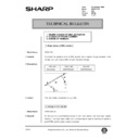 Sharp AR-161 (serv.man151) Technical Bulletin