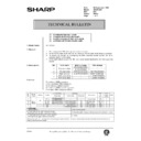 Sharp AR-161 (serv.man159) Technical Bulletin
