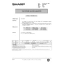 Sharp AR-161 (serv.man160) Technical Bulletin