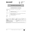 Sharp AR-161 (serv.man163) Technical Bulletin