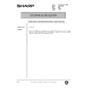 Sharp AR-161 (serv.man166) Technical Bulletin
