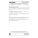 Sharp AR-161 (serv.man173) Technical Bulletin