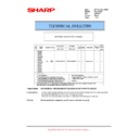 Sharp AR-250 (serv.man18) Technical Bulletin