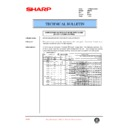 Sharp AR-250 (serv.man27) Technical Bulletin