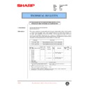 Sharp AR-250 (serv.man29) Technical Bulletin