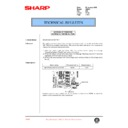 Sharp AR-250 (serv.man31) Technical Bulletin