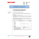 Sharp AR-250 (serv.man33) Technical Bulletin