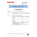 Sharp AR-250 (serv.man36) Technical Bulletin