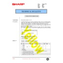Sharp AR-250 (serv.man44) Technical Bulletin