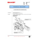 Sharp AR-250 (serv.man51) Technical Bulletin