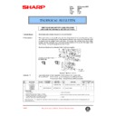 Sharp AR-250 (serv.man53) Technical Bulletin