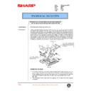 Sharp AR-250 (serv.man54) Technical Bulletin