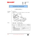 Sharp AR-250 (serv.man61) Technical Bulletin