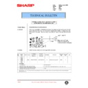 Sharp AR-250 (serv.man65) Technical Bulletin
