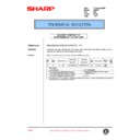 Sharp AR-250 (serv.man70) Technical Bulletin
