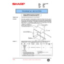 Sharp AR-250 (serv.man71) Technical Bulletin