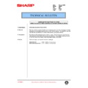 Sharp AR-250 (serv.man74) Technical Bulletin
