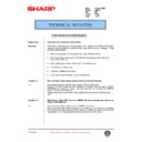 Sharp AR-250 (serv.man75) Technical Bulletin