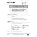 Sharp AR-250 (serv.man87) Technical Bulletin