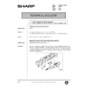 Sharp AR-250 (serv.man89) Technical Bulletin