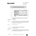 Sharp AR-250 (serv.man97) Technical Bulletin