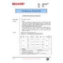 Sharp AR-285 (serv.man102) Technical Bulletin