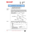 Sharp AR-285 (serv.man105) Technical Bulletin
