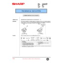 Sharp AR-285 (serv.man106) Technical Bulletin