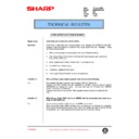 Sharp AR-285 (serv.man111) Technical Bulletin