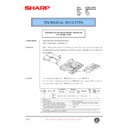 Sharp AR-285 (serv.man120) Technical Bulletin