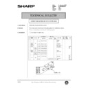 Sharp AR-285 (serv.man121) Technical Bulletin