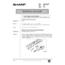 Sharp AR-285 (serv.man125) Technical Bulletin