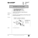 Sharp AR-285 (serv.man126) Technical Bulletin