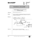 Sharp AR-285 (serv.man127) Technical Bulletin