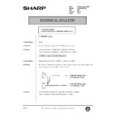 Sharp AR-285 (serv.man129) Technical Bulletin