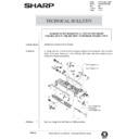 Sharp AR-285 (serv.man134) Technical Bulletin