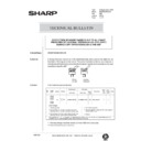 Sharp AR-285 (serv.man137) Technical Bulletin