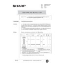 Sharp AR-285 (serv.man138) Technical Bulletin